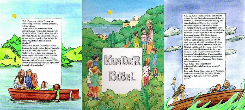 Die personalisierte Kinderbibel