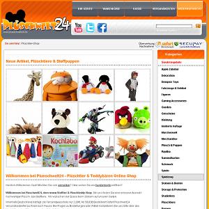 Kuscheltiere und Plüschgeschenke - Plüschwelt24de