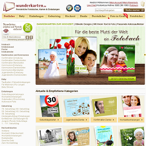 Taufkarten selbst gestalten - wunderkarten.de